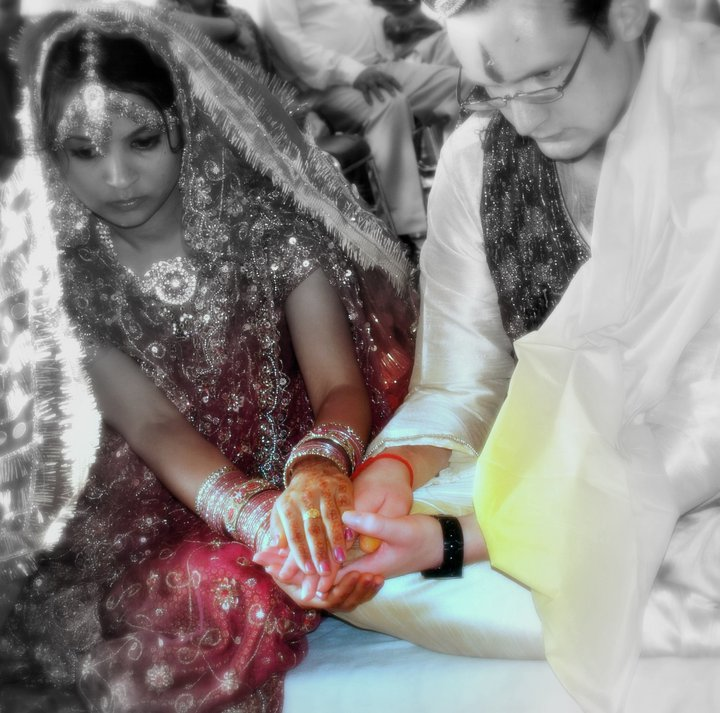 Our wedding in India